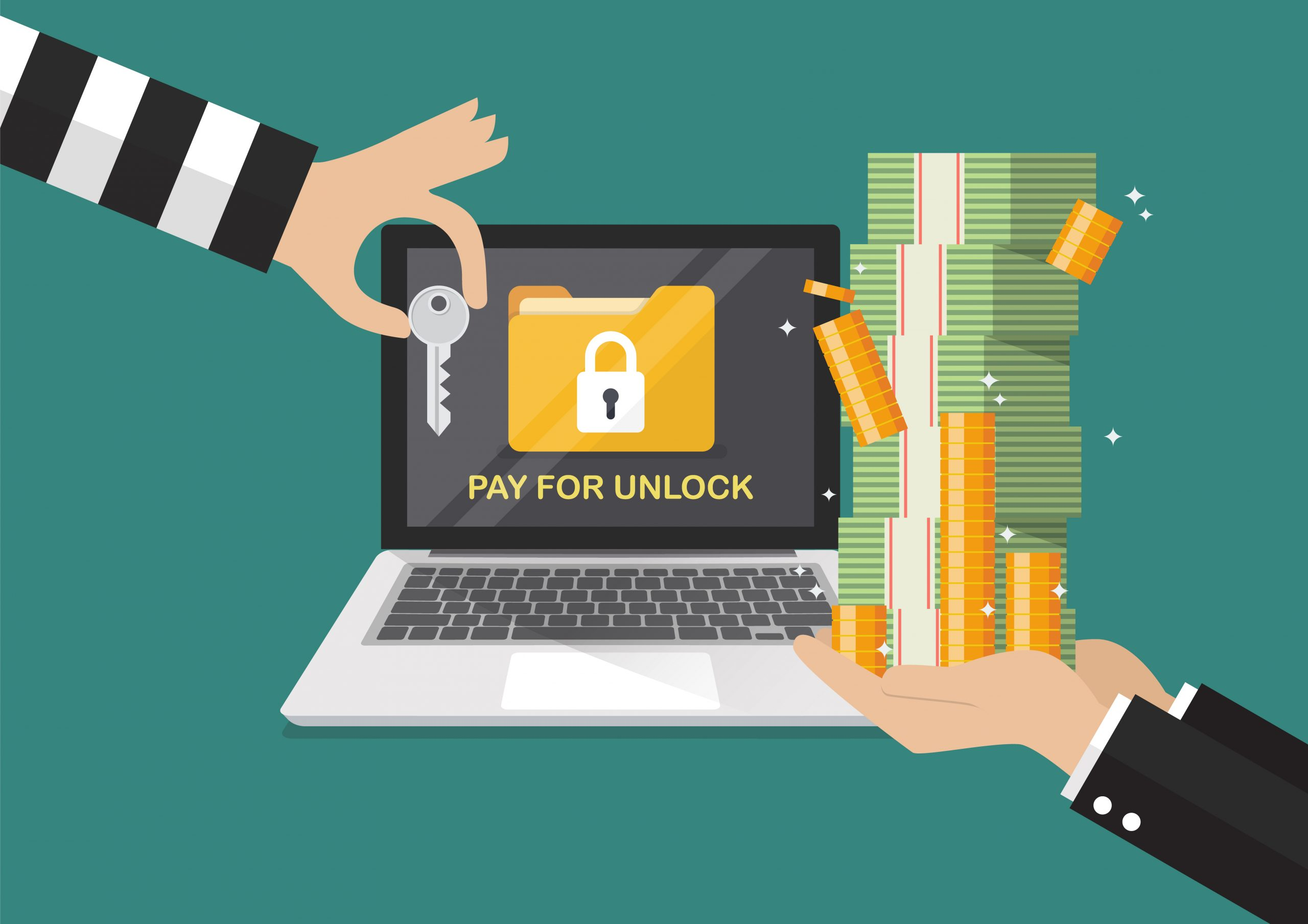 Ransomware can penetrate quickly, significantly damaging an organization